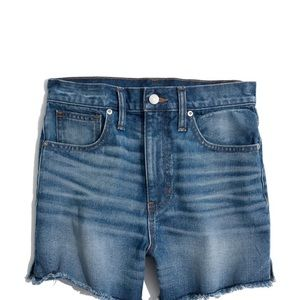 MADEWELL Sz 31 (12) The Perfect Jean Short NWT